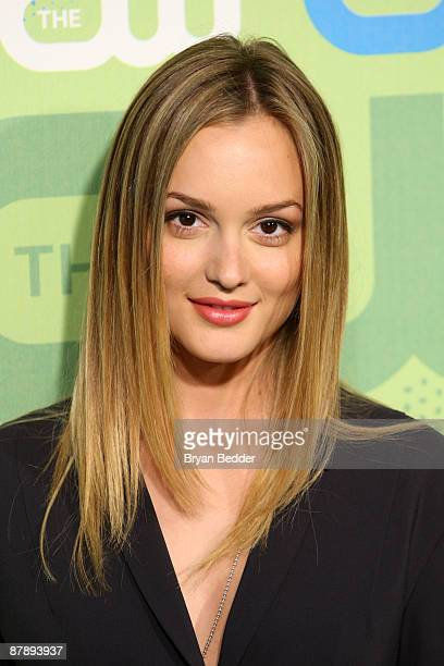 Actress Leighton Meester attends the 2009 The CW Network UpFront at Madison Square Garden on May 21 2009 in New York New York