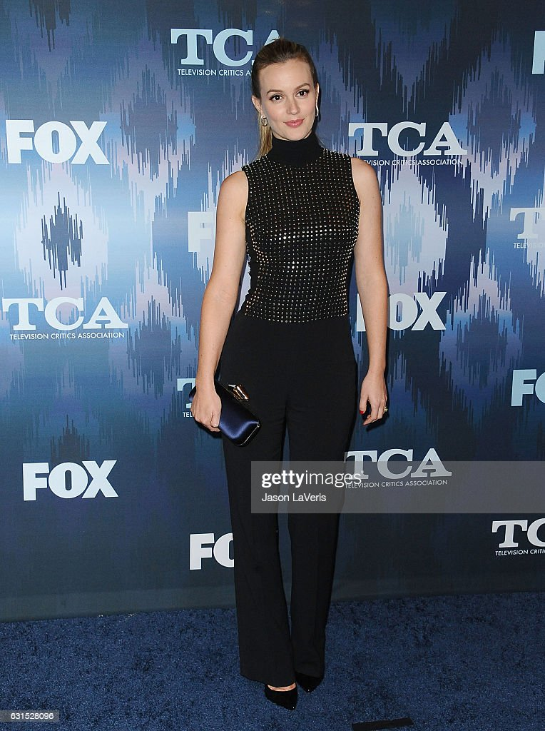 Actress Leighton Meester attends the 2017 FOX All-Star Party at Langham Hotel on January 11, 2017 in Pasadena, California.