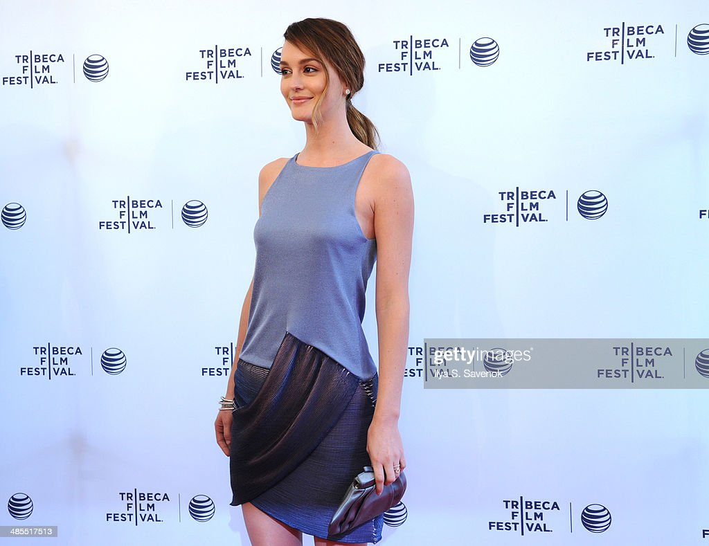 Actress Leighton Meester attends the 'Life Partners' Premiere during the 2014 Tribeca Film Festival at the SVA Theater on April 18, 2014 in New York City.