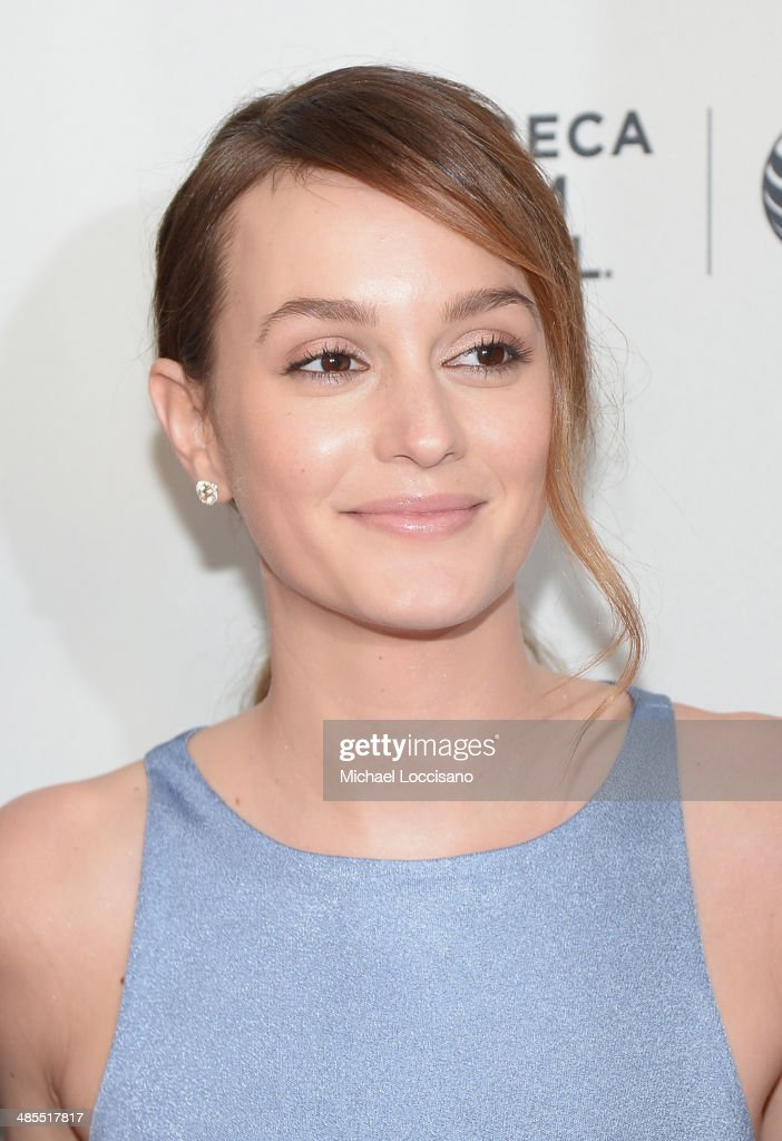 Actress <a gi-track='captionPersonalityLinkClicked' href=/galleries/search?phrase=Leighton+Meester&family=editorial&specificpeople=3947554 ng-click='$event.stopPropagation()'>Leighton Meester</a> attends the 'Life Partners' premiere during the 2014 Tribeca Film Festival at SVA Theater on April 18, 2014 in New York City.
