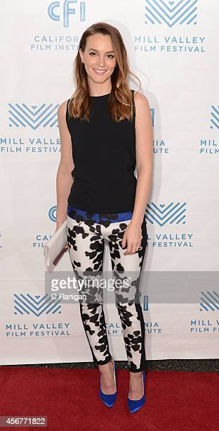 Actress Leighton Meester attends the premiere for 'Like Sunday Like Rain' at the Rafael Film Center on October 6 2014 in Mill Valley California