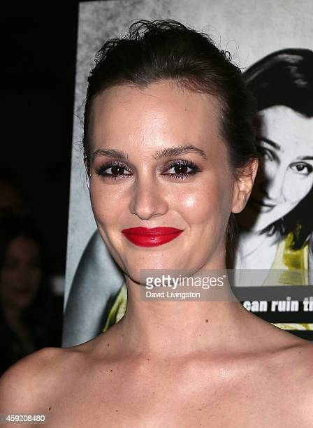 Actress Leighton Meester attends the premiere of Magnolia Pictures' 'Life Partners' at ArcLight Hollywood on November 18 2014 in Hollywood California