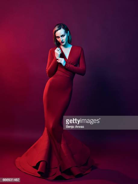 Actress Leighton Meester is photographed for Rogue Magazine on January 25 2017 in Los Angeles California PUBLISHED IMAGE ON DOMESTIC EMBARGO UNTIL...