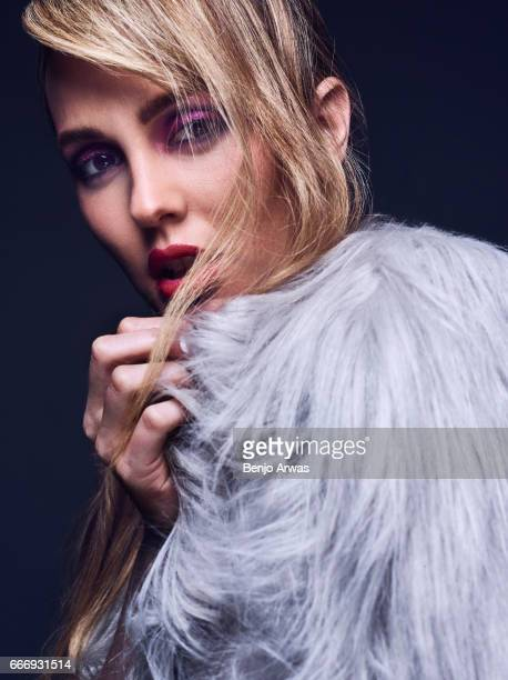 Actress Leighton Meester is photographed for Rogue Magazine on January 25 2017 in Los Angeles California ON DOMESTIC EMBARGO UNTIL MAY 1 2017 ON...