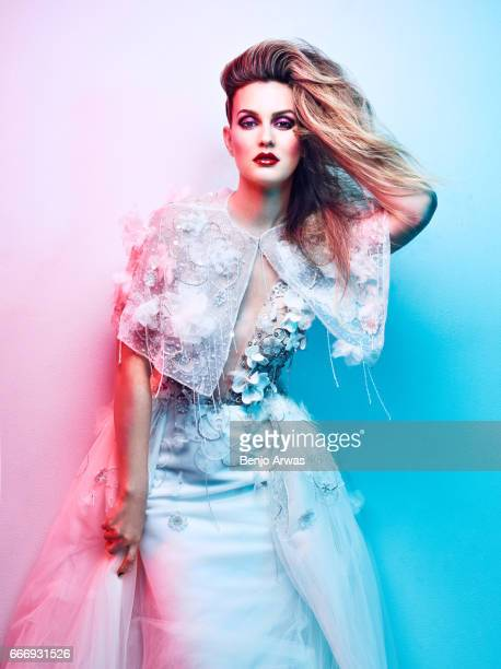 Actress Leighton Meester is photographed for Rogue Magazine on January 25 2017 in Los Angeles California COVER IMAGE ON DOMESTIC EMBARGO UNTIL MAY 1...