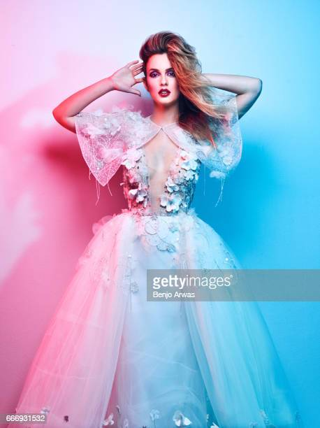 Actress Leighton Meester is photographed for Rogue Magazine on January 25 2017 in Los Angeles California PUBLISHED IMAGE