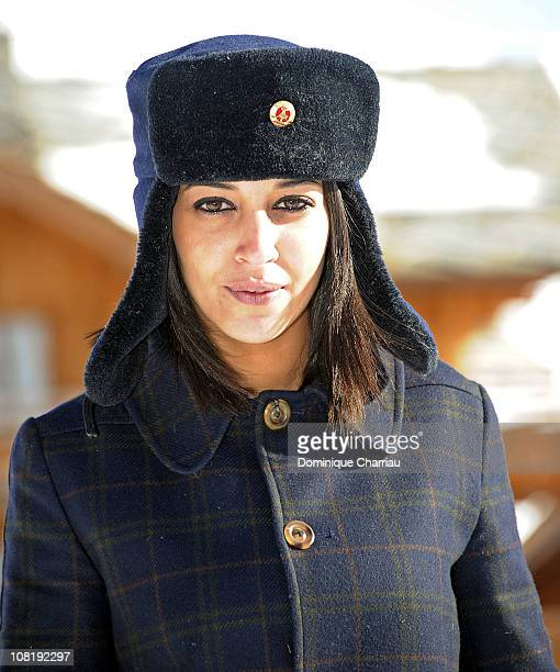 Y 20 Y 20 Y 20 Y 20 Y 20 Y 20 Y 20 Actress Leila Bekhti attends the 14th Film Festival Of L'Alpe D'Huez on January 20 2011 in Alpe d'Huez France