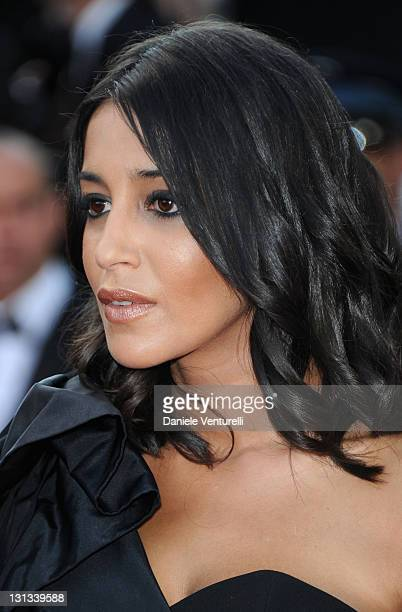 Actress Leila Bekhti attends the 'La Source Des Femmes' Premiere during the 64th Cannes Film Festival at the Palais des Festivals on May 21 2011 in...