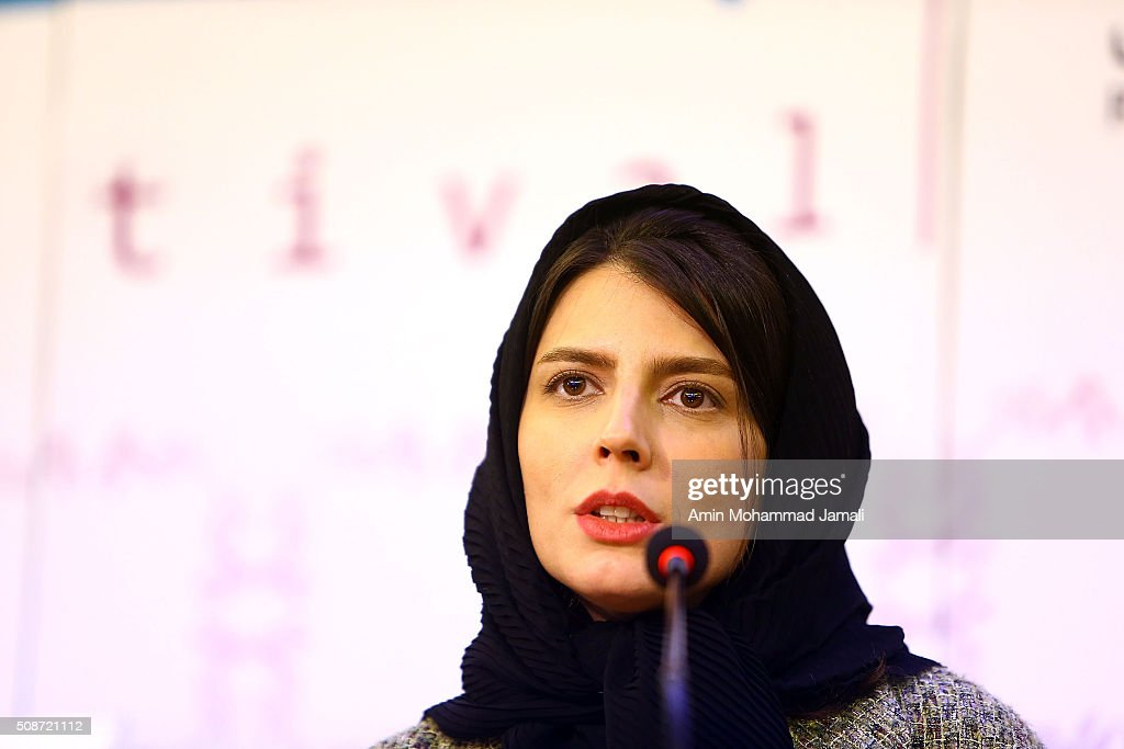 Actress <a gi-track='captionPersonalityLinkClicked' href=/galleries/search?phrase=Leila+Hatami&family=editorial&specificpeople=7082232 ng-click='$event.stopPropagation()'>Leila Hatami</a> looks on during the Fajr Film Festival on February 6, 2016 in Tehran, Iran.