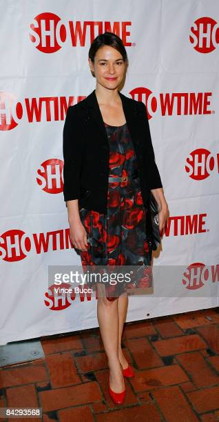 Actress Leisha Hailey attends the CBS and Showtime Network's Winter Television Critics Association Party on January 14 2009 in Hollywood California