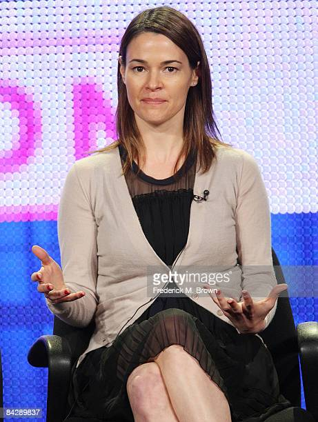 Actress Leisha Hailey of the television show 'The L Word' attends during the CBS Showtime portion of the 2009 Winter Television Critics Association...