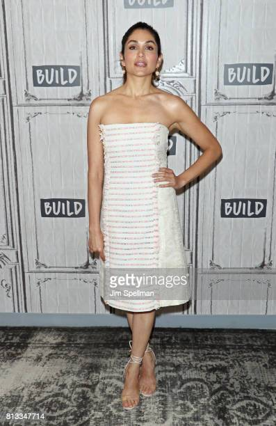 Actress Lela Loren attends Build to discuss 'Power'at Build Studio on July 12 2017 in New York City