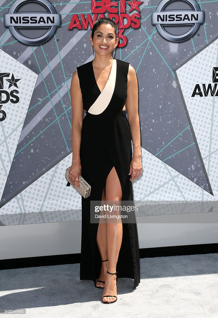 Actress <a gi-track='captionPersonalityLinkClicked' href=/galleries/search?phrase=Lela+Loren&family=editorial&specificpeople=4697443 ng-click='$event.stopPropagation()'>Lela Loren</a> attends the 2016 BET Awards at Microsoft Theater on June 26, 2016 in Los Angeles, California.