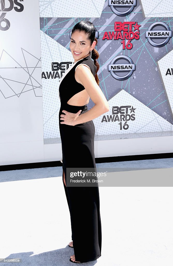 Actress <a gi-track='captionPersonalityLinkClicked' href=/galleries/search?phrase=Lela+Loren&family=editorial&specificpeople=4697443 ng-click='$event.stopPropagation()'>Lela Loren</a> attends the 2016 BET Awards at the Microsoft Theater on June 26, 2016 in Los Angeles, California.