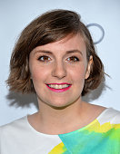Actress Lena Dunham arrives at The Television Academy Presents An Evening With 'Girls' event at the Leonard H Goldenson Theatre on March 13 2014 in...