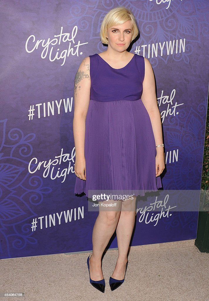 Actress Lena Dunham arrives at Variety And Women In Film Annual PreEmmy Celebration at Gracias Madre on August 23 2014 in West Hollywood California