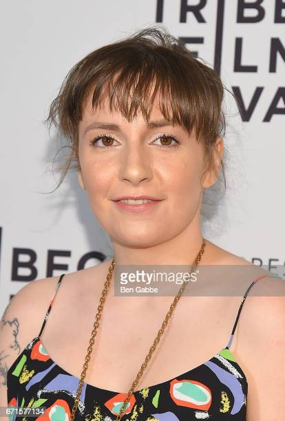 Actress Lena Dunham attends 'My Art' premiere during the 2017 Tribeca Film Festival at Cinepolis Chelsea on April 22 2017 in New York City