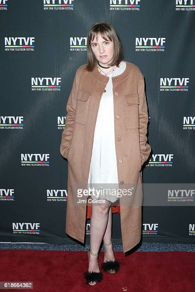 Actress Lena Dunham attends the 12th Annual New York Television Festival Creative Keynote A Conversation With 'Girls' 12th Annual New York Television...
