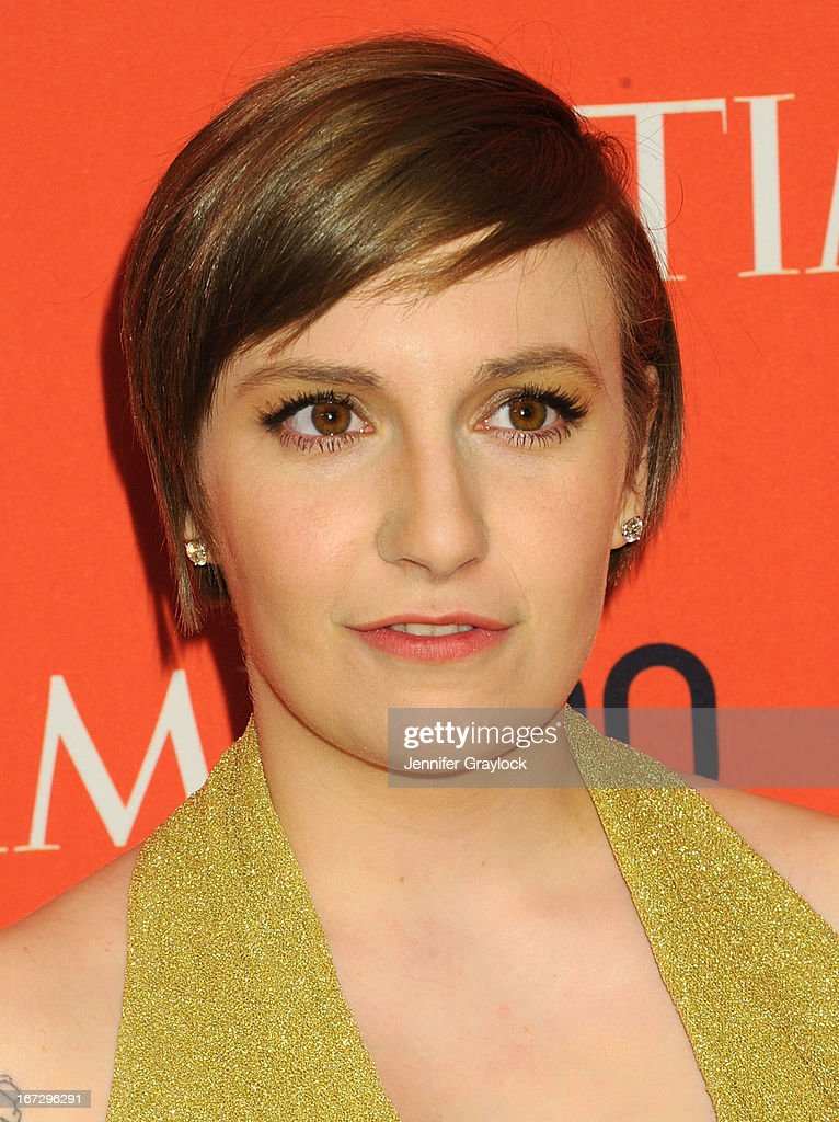 Actress Lena Dunham attends the 2013 Time 100 Gala at Frederick P. Rose Hall, Jazz at Lincoln Center on April 23, 2013 in New York City.