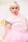 Actress Lena Dunham attends the 66th Annual Primetime Emmy Awards held at Nokia Theatre LA Live on August 25 2014 in Los Angeles California