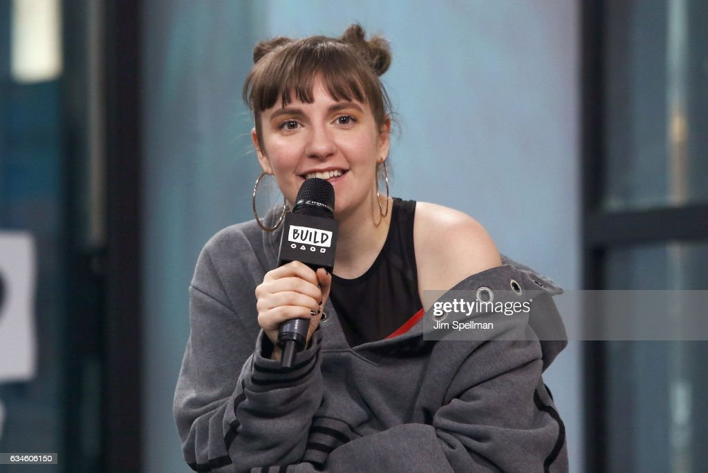 Actress Lena Dunham attends the Build series to discuss 'Girls' Final Season at Build Studio on February 10, 2017 in New York City.