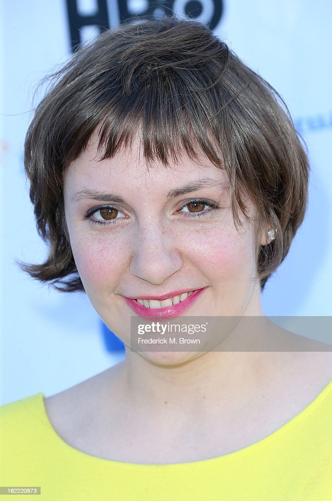 Actress <a gi-track='captionPersonalityLinkClicked' href=/galleries/search?phrase=Lena+Dunham&family=editorial&specificpeople=5836535 ng-click='$event.stopPropagation()'>Lena Dunham</a> attends the L.A. Loves Alex's Lemonade Event at the Culver Studios on September 28, 2013 in Culver City, California.