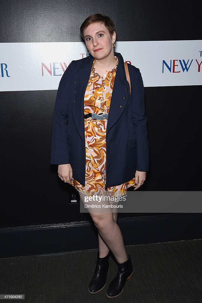 Actress Lena Dunham attends The New Yorker's White House Correspondents' Dinner Weekend PreParty hosted by David Remnick at the W Hotel Rooftop on...