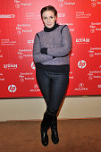 Actress Lena Dunham attends the Power Of Story Panel Serious Ladies during the 2015 Sundance Film Festival at the Egyptian Theatre on January 24 2015...