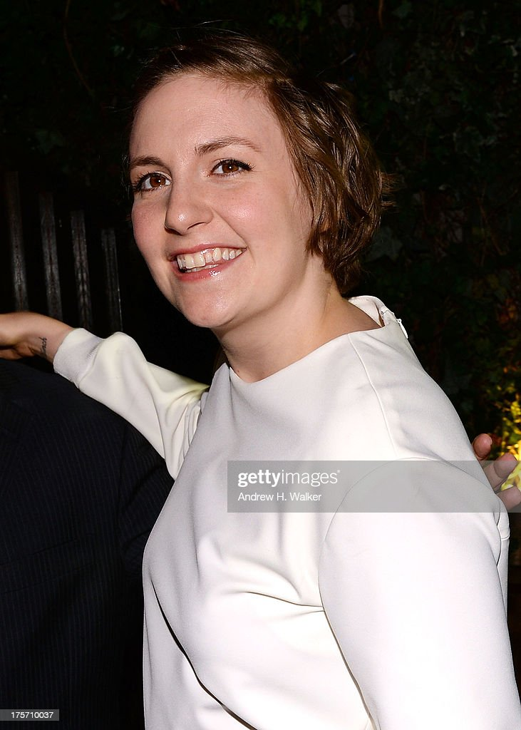 Actress Lena Dunham attends the Young New York Fundraiser in support of Scott Stringer for NYC Comptroller at Maritime Hotel on August 6, 2013 in New York City.