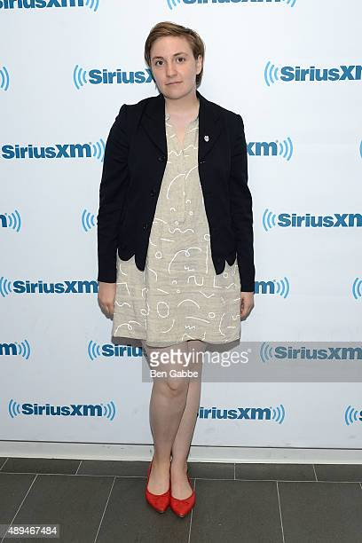 Actress Lena Dunham visits at SiriusXM Studios on September 21 2015 in New York City
