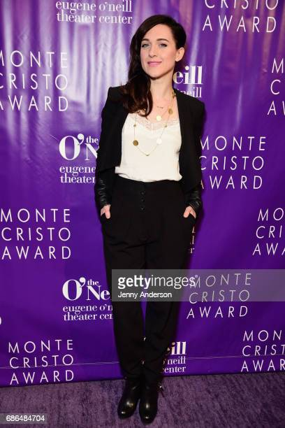 Actress Lena Hall arrives at The Eugene O'Neill Theater Centers to the Monte Cristo Awards honoring Judith Light on May 21 2017 in New York City