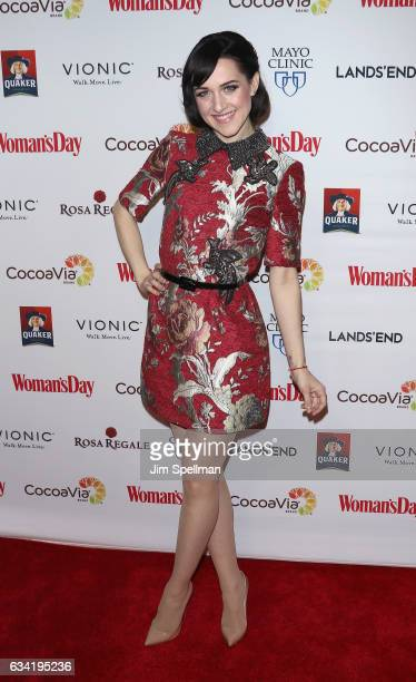 Actress Lena Hall attends the 14th annual Woman's Day Red Dress Awards at Jazz at Lincoln Center on February 7 2017 in New York City
