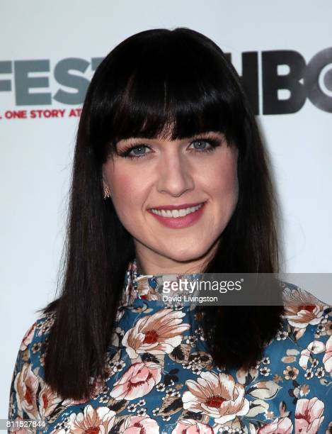 Actress Lena Hall attends the 2017 Outfest Los Angeles LGBT Film Festival centerpiece screening of 'Becks' at the DGA Theater on July 9 2017 in Los...