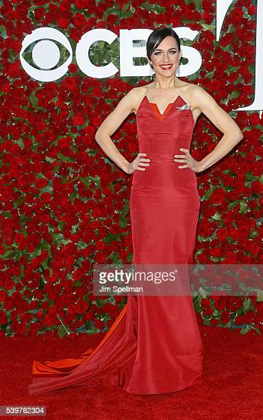 Actress Lena Hall attends the 70th Annual Tony Awards at Beacon Theatre on June 12 2016 in New York City