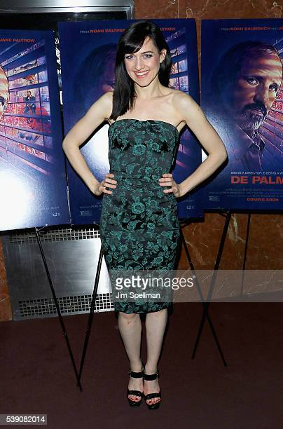 Actress Lena Hall attends the 'De Palma' New York screening at DGA Theater on June 9 2016 in New York City