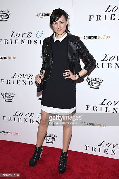 Actress Lena Hall attends the 'Love Friendship' New York Screening at Landmark Sunshine Cinema on May 10 2016 in New York City