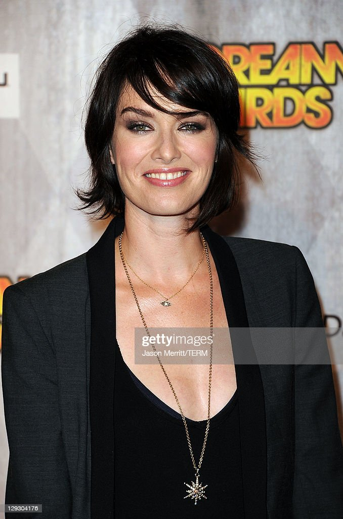 Actress Lena Headey arrives at Spike TV's 'SCREAM 2011' awards held at Universal Studios on October 15 2011 in Universal City California