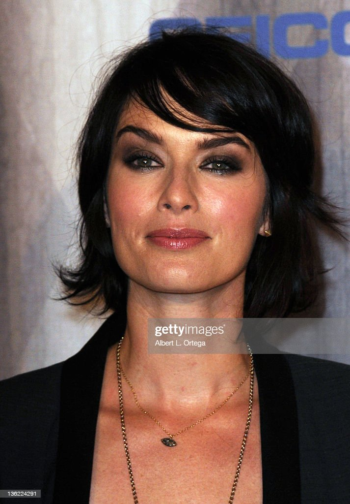 Actress Lena Headey arrives at Spike TV's 'Scream Awards 2011' at Universal Studios Backlot on October 15, 2011 in Universal City, California.