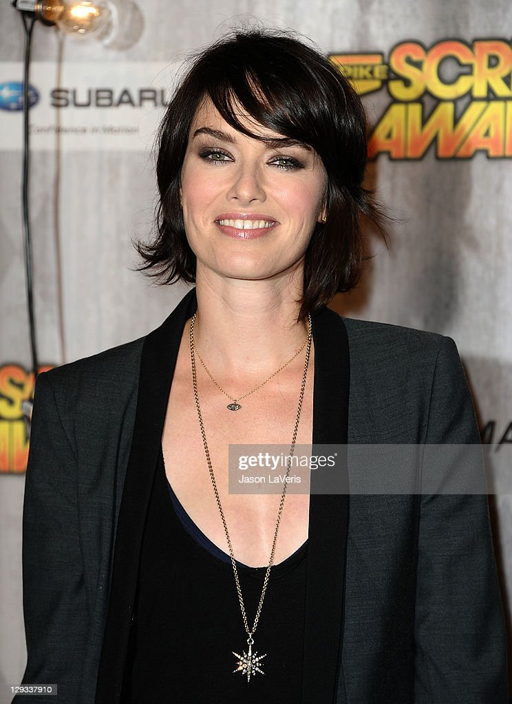 Actress Lena Headey attends Spike TV's 2011 Scream Awards at Gibson Amphitheatre on October 15, 2011 in Universal City, California.