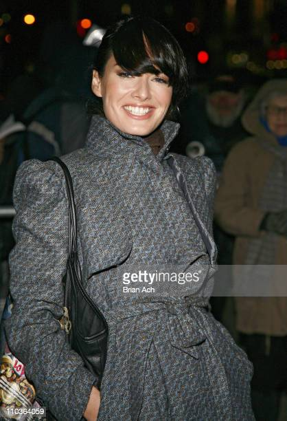 Actress Lena Headey visits 'Late Show with David Letterman' at the Ed Sullivan Theater on January 30 2008 in New York City