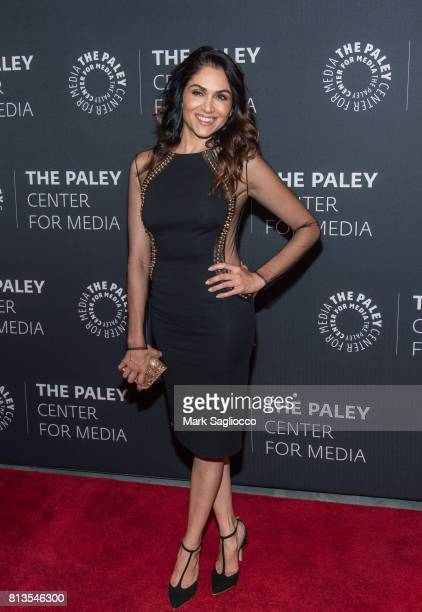Actress Lena Loren attends An Evening With The Cast And Creative Team Of 'Power' at The Paley Center for Media on July 12 2017 in New York City