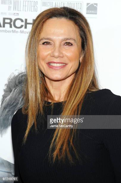 Actress Lena Olin attends the premiere of 'Remember Me' at the Paris Theatre on March 1 2010 in New York City