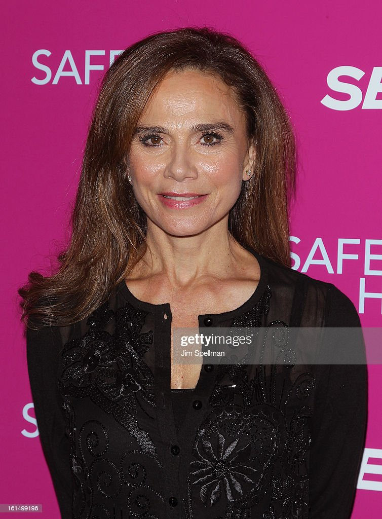 Actress Lena Olin attends the 'Safe Haven' premiere at Landmark's Sunshine Cinema on February 11, 2013 in New York City.