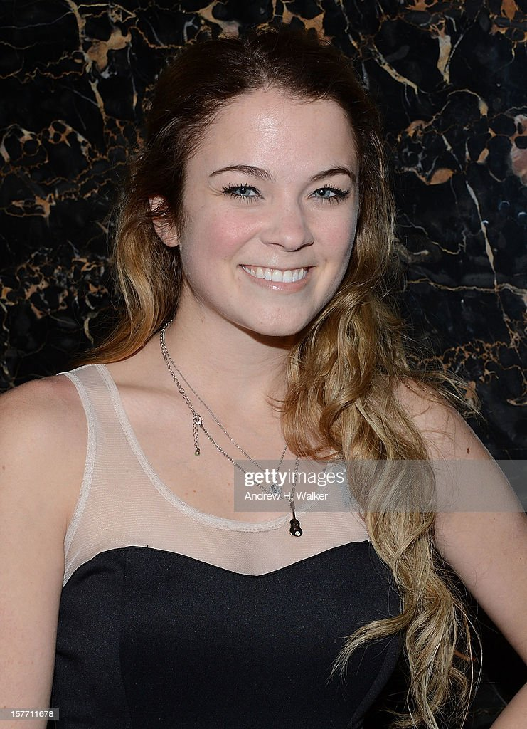 Actress Lenay Dunn attends the Film District and Chrysler with The Cinema Society premiere of 'Playing For Keeps' after party at Dream Downtown on December 5, 2012 in New York City.