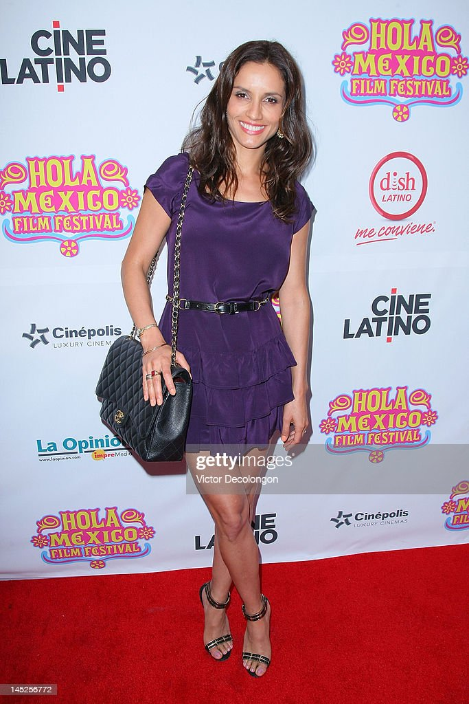 Actress Leonor Varela arrives for the 2012 Hola Mexico Film Festival Opening Night at The Ricardo Montalban Theatre on May 24, 2012 in Hollywood, California.