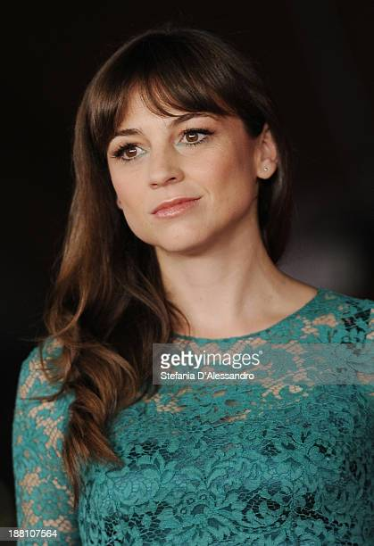 Actress Leonor Watling attends 'Another Me' Premiere during The 8th Rome Film Festival on November 15 2013 in Rome Italy