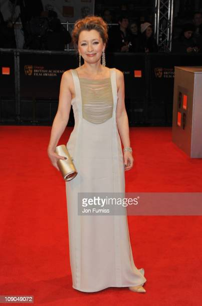 Actress Lesley Manville attends the 2011 Orange British Academy Film Awards at The Royal Opera House on February 13 2011 in London England