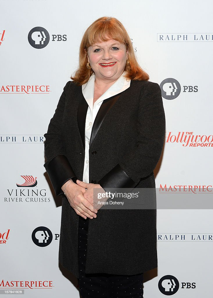 Actress Lesley Nicol arrives at The Hollywood Reporter screening of PBS Masterpiece's 'Downton Abbey' Season 3 on December 7, 2012 in West Hollywood, California.