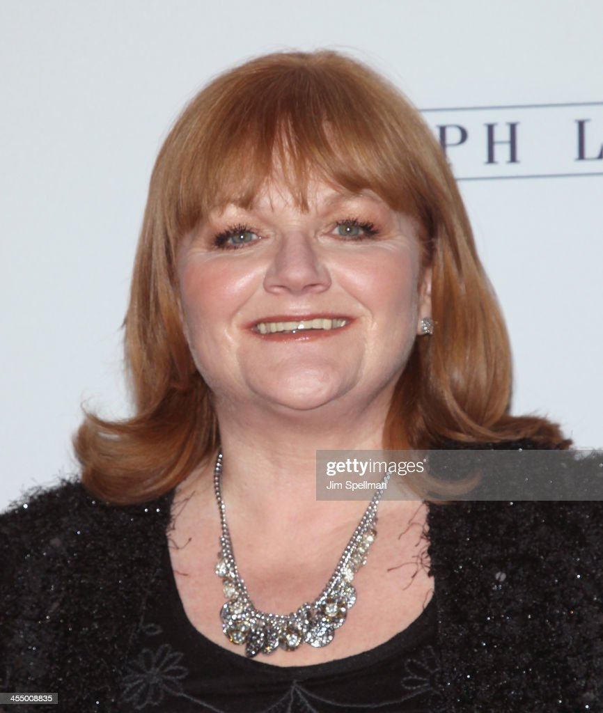 Actress Lesley Nicol attends 'Downton Abbey' Season Four cast photo call at Millenium Hotel on December 10, 2013 in New York City.