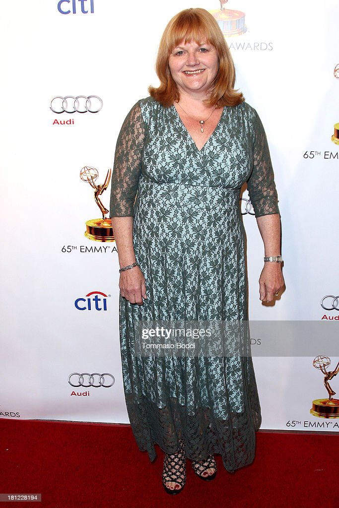 Actress Lesley Nicol attends the 65th Emmy Awards Writers Nominee reception held at the Leonard H. Goldenson Theatre on September 19, 2013 in North Hollywood, California.
